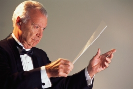 Man Conducting