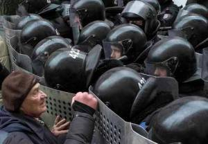Facing down the Berkut