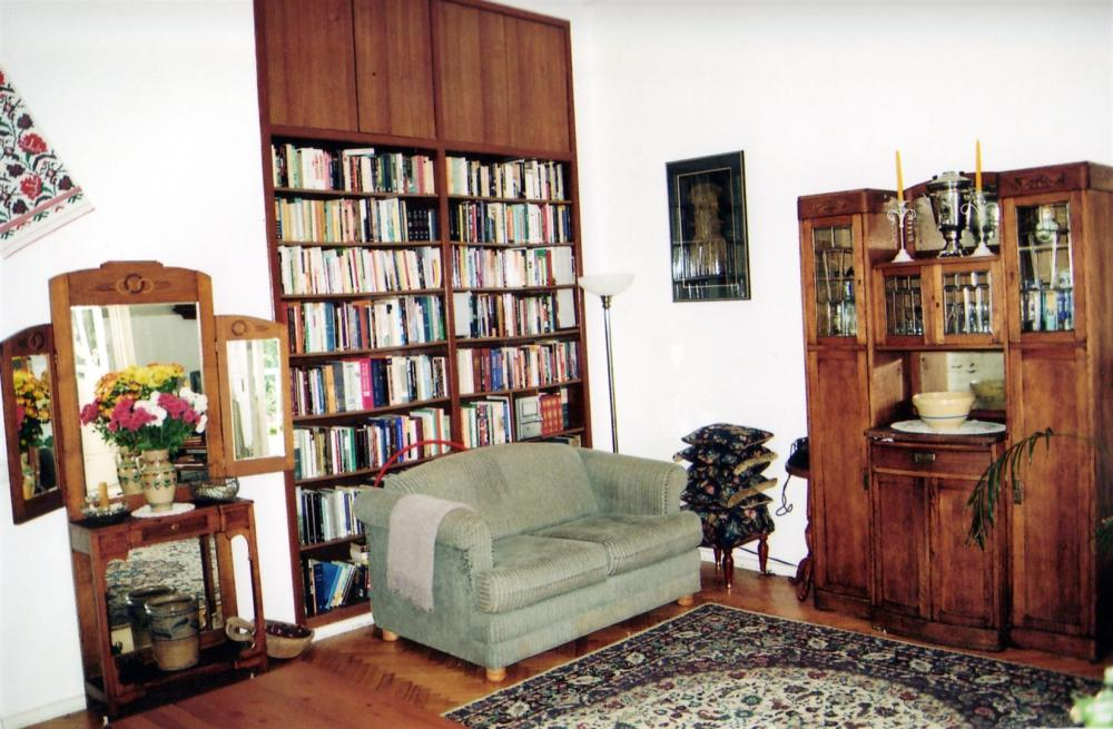 My bookshelves in Ukraine