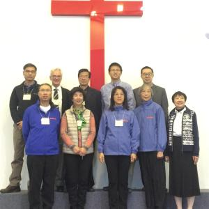 Representatives from Richmond Hills Christian Community Church neart Toronto, Ontario, Canada.