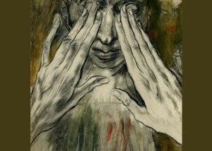 Eduourd Léon Edy-Legrand. Jesus Healing the Blind Man. ca.1950