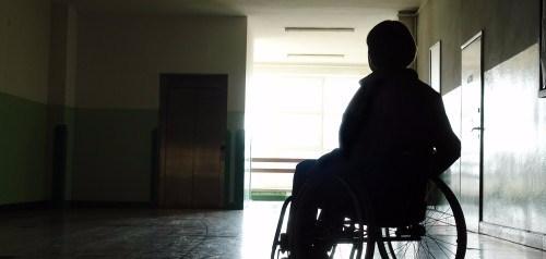 disability wheelchair silhouette