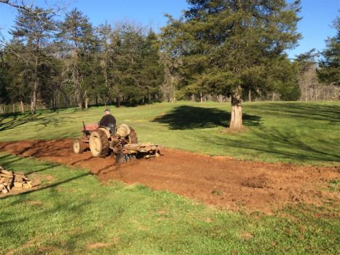 2016-04 IMG_4290 farmer plowing farmhouse garden (Large)