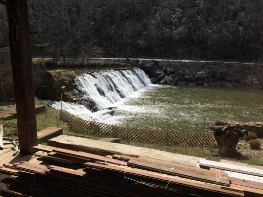 2017-03 IMG_6962 mill pond porch dam with wood (Large)