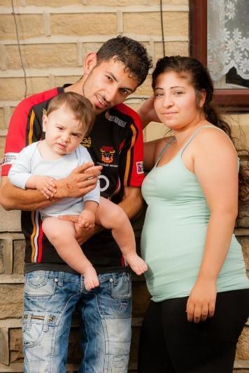 Roma family