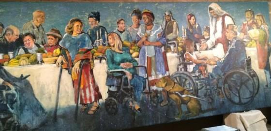 DISABILITY mural hyatt moore luke 14