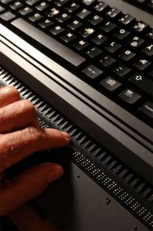 UD4 braille keyboard
