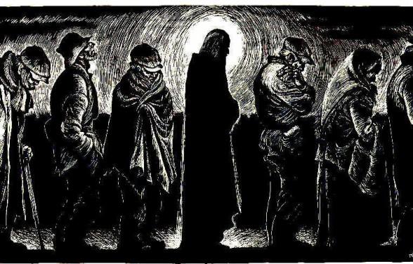 Christ of the Breadlines - Eichenberg